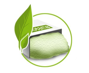 Преимущества эковаты в экологичности.